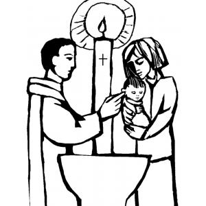 Si può battezzare un bambino se i genitori non sono sposati?
