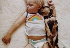 regalare un cucciolo ad un bambino