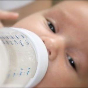 biberon latte artificiale