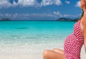 gravidanza spiaggia
