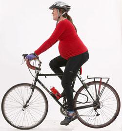 bicicletta gravidanza
