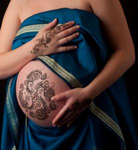 tatuaggio incinta