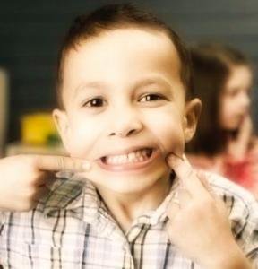 mal di denti bambino