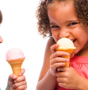 si può dare il gelato ai bambini?