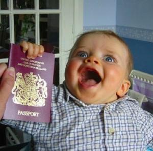 passaporto bambino