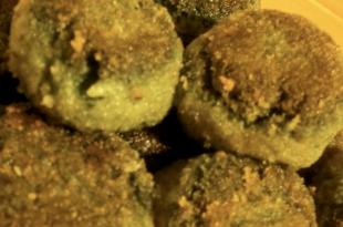 polpette platessa e spinaci