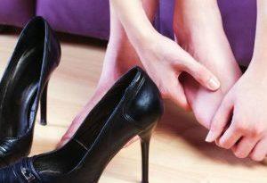 Aiuto! Non mi entrano più le scarpe
