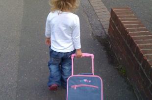 il primo giorno di asilo coincide con il vero distacco genitoriale per la prima volta