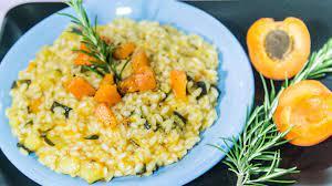 riso e albicocche